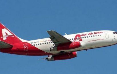Vuelos comerciales cancelados por Avior Airlines