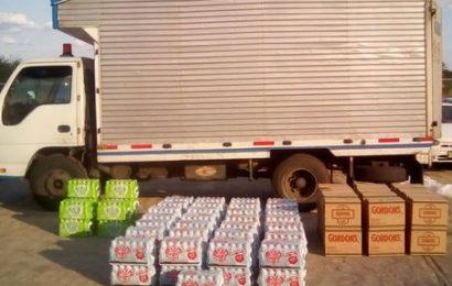 Confiscados dos cargamentos de licores por la Guardia Nacional Bolivariana