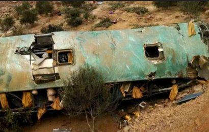 Accidente de autobús al sur de Perú dejó 44 personas fallecidas