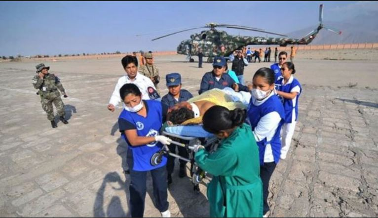 Accidente de autobús al sur de Perú este miércoles