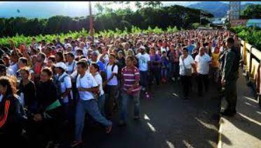 Juan Manuel Santos pidió a la CIDH tratar migración venezolana