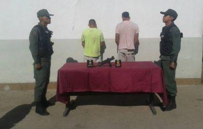 Desur capturaró a dos delincuentes en San Juan de los Morros