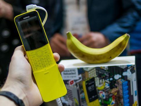 El nuevo smartphone: Nokia 8110 o el Banana Phone de Matrix