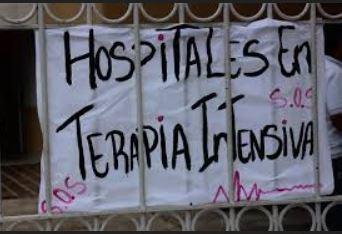 Trabajadores de la salud protestan fuera de hospitales del país por falta de insumos