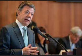 Juan Manuel Santos pidió a la CIDH tratar migración venezolana en Colombia