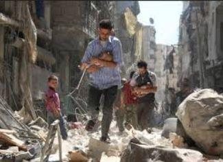 Siria: 15.735 muertos por bombardeos en dos años