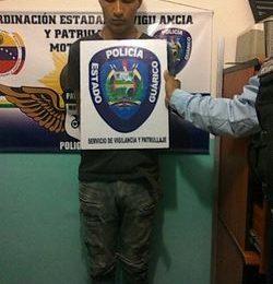 Policía de Guárico detuvo rápidamente a homicida en la entidad