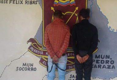 Guardia Nacional Bolivariana desmanteló otra banda delictiva