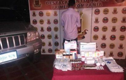 Guardia Nacional Bolivariana detuvo a sujeto por contrabando medicinas