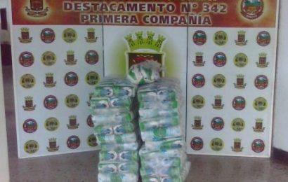 Guardia Nacional Bolivariana retuvo 504 kilos de azúcar
