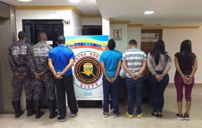 Detenidos siete individuos por robar en el aeropuerto de Maiquetía