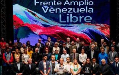Frente Amplio Nacional exige una comisión de la ONU en mayo