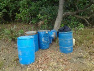 Guardia Nacional Bolivariana desmantela campamento de narcotraficantes