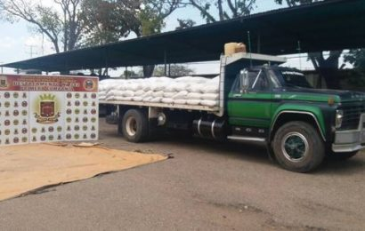Capturados dos hombres por contrabando de insumos agrícolas
