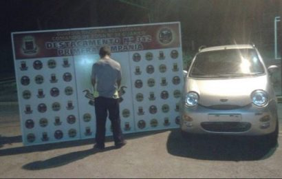 Detenido un individuo por intentar trasladar un vehículo robado