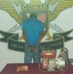 El CONAS detuvo a sujeto por intento de robo en el estado Guárico