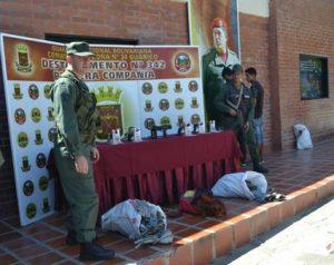 DESUR arrestó a sujetos por contrabando de cobre
