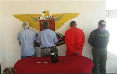CONAS apresó a delincuentes dedicados al robo en el estado