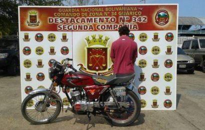 Detenido por haber cometido ultraje a la autoridad en el estado Guárico
