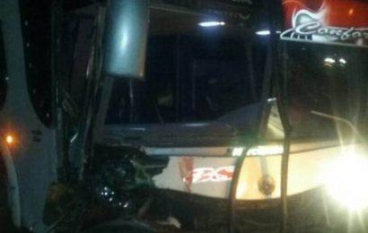 Accidente automovilístico dejó un muerto y siete heridos