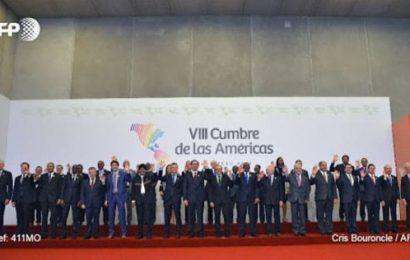 La foto inaugural de la Cumbre de las Américas en Lima