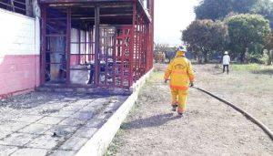 Detenidos funcionarios por incendio de galpones en Miranda