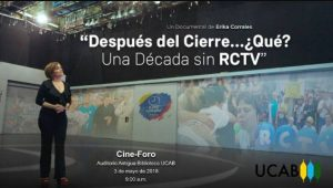 Próximo 3 de mayo se proyectará el documental sobre RCTV