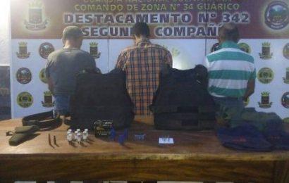 Guardia Nacional Bolivariana desmanteló banda delictiva