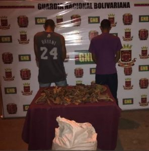 Guardia Nacional Bolivariana incautó tráfico de cobre