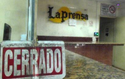 Diario La Prensa de Barinas sale de circulación el próximo sábado