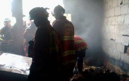 Incendio en el cementerio dejó un saldo de tres muertos
