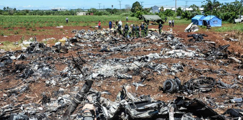 Falleció Grettel Landrove superviviente del accidente aéreo en Cuba