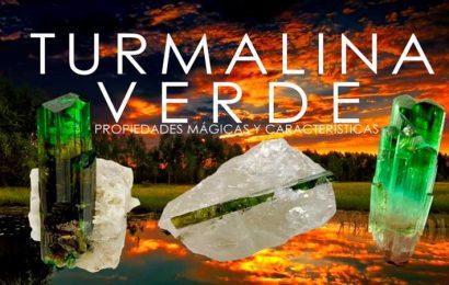 Turmalina verde minerales y sus propiedades