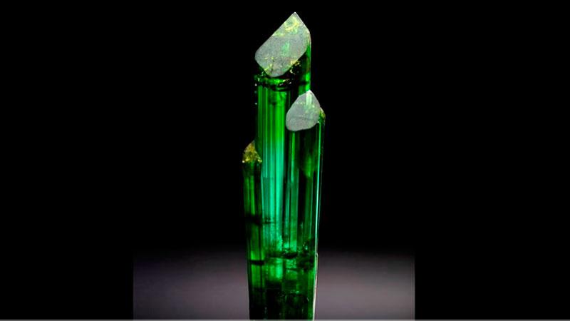 Turmalina verde minerales Prominer