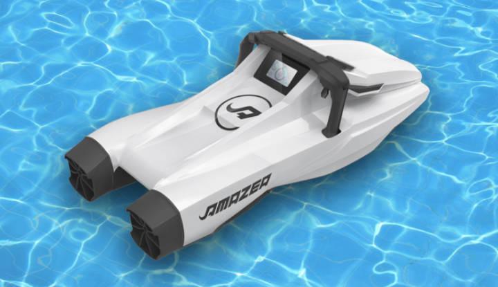 AMAZEA, la moto acuática fabricada con impresoras 3D de gran formato